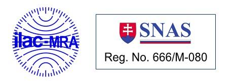 Akreditačná značka SNAS